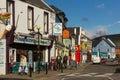 Colourful houses. Strand street. Dingle. Ireland Royalty Free Stock Photo