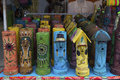Colourful Incense Burners Royalty Free Stock Photo