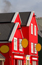 Colourful irish architecture Royalty Free Stock Photography