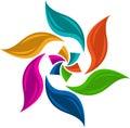 Colourful leaf logo