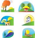 Colourful Logo Set