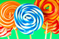 Colourful lollipop Royalty Free Stock Image