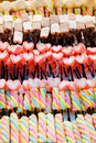 Colourful Marshmallows; tasty yummy for party Royalty Free Stock Photo