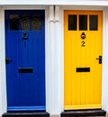 Colourful neighbours Royalty Free Stock Photo