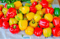 Colourful bell pepper Royalty Free Stock Photo