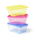 Colourful Plastic Containers Royalty Free Stock Photo