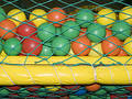 Colourful Plastic Playground Balls Royalty Free Stock Photo