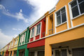 Colourful Real Estate Stock Images