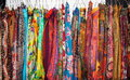 Colourful Scarves Royalty Free Stock Photo