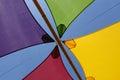 Colourful shade sails Royalty Free Stock Photo
