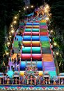 stock image of  The colourful steps at Batu Caces, Mlaysia