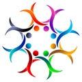 Colourful team