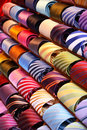 Colourful ties Stock Photography