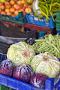 Colourful vegetable market Royalty Free Stock Photography