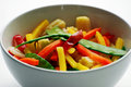 Colourful Veggies Royalty Free Stock Images