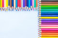 Colouring pencils Royalty Free Stock Photo
