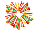 Colouring Pens Stock Images