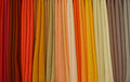 Colours from cloths Royalty Free Stock Photo