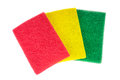 Colours napkin Stock Image