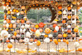 Colours Pumpkins Stock Image