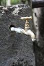 Colpetto di acqua Immagini Stock