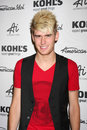Colton Dixon arrives at the American Idol's Royalty Free Stock Photo