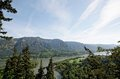 Columbia River Gorge, Pacific Northwest, Oregon Stock Photos