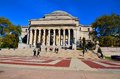 Columbia university library new york city oct and statue of alma mater new york ny on otc it is the oldest institution of higher Royalty Free Stock Photos
