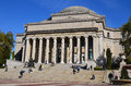 Columbia university new york city oct library and statue of alma mater new york ny on otc it is the oldest institution of higher Royalty Free Stock Photos