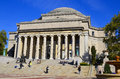 Columbia university new york city oct library and statue of alma mater new york ny on otc it is the oldest institution of higher Stock Image