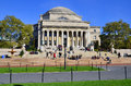 Columbia university new york city oct library and statue of alma mater new york ny on otc it is the oldest institution of higher Stock Photography