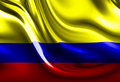 Columbian flag Royalty Free Stock Photos