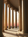 Column architecture sunset background Stock Photography
