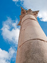 Column in Jerash, Jordan. Stock Images