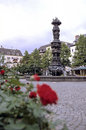 Column- Koblenz, Germany Royalty Free Stock Photo