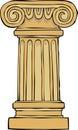 Column pedestal Royalty Free Stock Photo