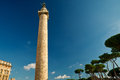 Column of Trajan in Rome Stock Photo