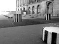 Columns of Buren - PAris Royalty Free Stock Photo