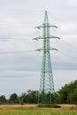 Columns high voltage Royalty Free Stock Photo