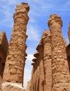stock image of  Columns of Karnak Temple, Egypt, Luxor