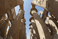 Columns at Karnak temple in Luxor Royalty Free Stock Photography