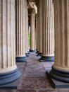 Columns of kazanskiy cathedral st petersburg Stock Images