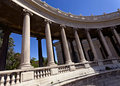 Columns of Longchamp palace, Marseille Stock Photography