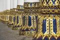 Columns of the phra mahathat vihan in nakhon sri thammarat thailand Stock Photography