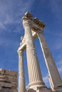 Columns Trajan temple Royalty Free Stock Photo