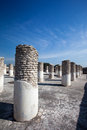 Columns in Tula de Allende Royalty Free Stock Image