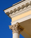 Columns, Wroclaw Opera. Royalty Free Stock Photo