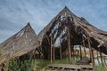 Comana natural park romania ruins of a celtic village at Stock Images