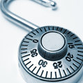 Combination Lock Royalty Free Stock Image