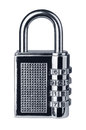 Combination lock Royalty Free Stock Photo